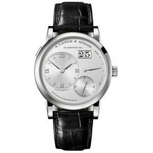 Copy A.Lange & Sohne Lange 1 Platinum Mens Watch 191.025
