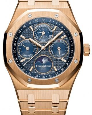 Copy Audemars Piguet Royal Oak Perpetual Calendar Watch 26574OR.OO.1220OR.02