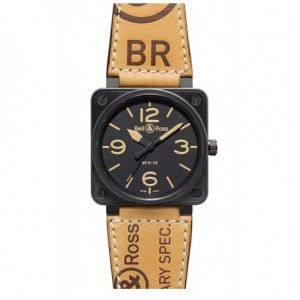 Copy Bell & Ross Aviation BR 01-92 Heritage Mens Watch BR 01-92 Heritage