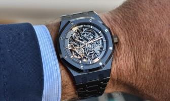 Audemars Piguet Royal Oak 41 Double Balance Wheel Openworked Watch 15416CE.OO.1225CE.01 Reviews