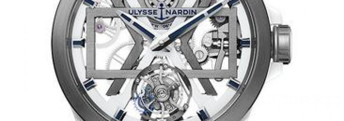 Ulysse Nardin Executive Skeleton X White Blast Watch 1723-400-3A