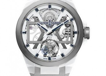 Ulysse Nardin Executive Skeleton X White Blast Watch 1723-400-3A