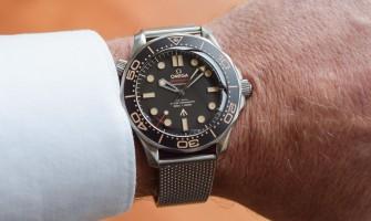 Omega Seamaster Diver 300m James Bond 007 Watch 210.90.42.20.01.001 Reviews