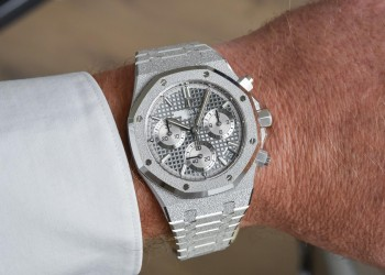 Audemars Piguet Royal Oak Frosted Gold White Gold 41mm Grey 26239BC.GG.1224BC.01