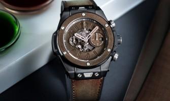 Hublot Big Bang Unico Berluti Cold Brown 45mm Watch 411.CI.0500.VR.BER20