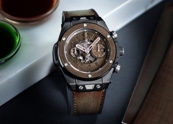 Hublot Big Bang Unico Berluti Cold Brown 45mm Watch 411.CI.0500.VR.BER20