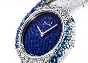 2020 Piaget Limelight Gala White Gold Sapphire Diamond Watch G0A45163 Reviews