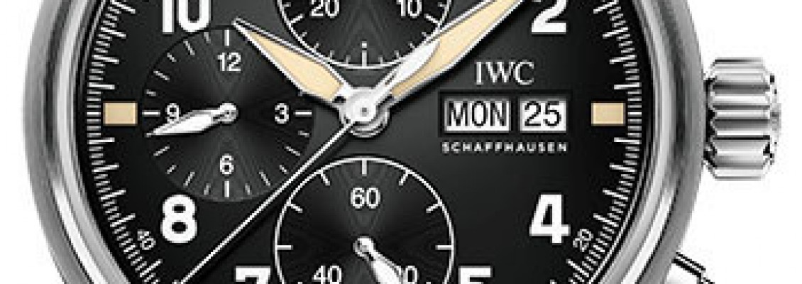 IWC Portugieser Chronograph Automatic Watch IW371604