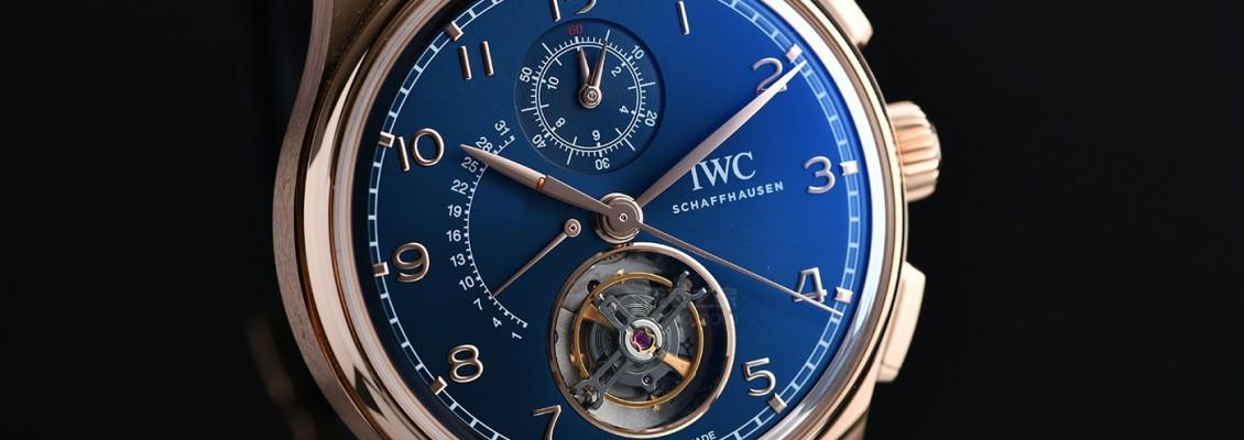 IWC Portugieser Tourbillon Rétrograde Chronograph Boutique Edition IW394005