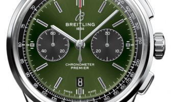 Breitling Bentley Premier B01 Chronograph Green Dial 42mm AB0118A11L1X1