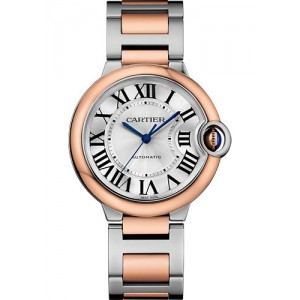 Copy Cartier Ballon Bleu 36mm Ladies Watch W2BB0003