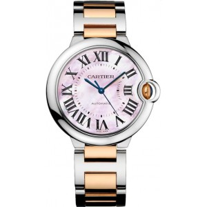 Copy Cartier Ballon Bleu De Cartier 36MM Watch W2BB0011