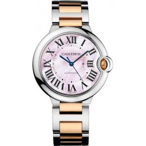 Copy Cartier Ballon Bleu De Cartier 36MM Watch W2BB0011