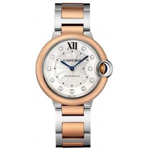 Copy Cartier Ballon Bleu De Cartier 36mm Watch W3BB0013