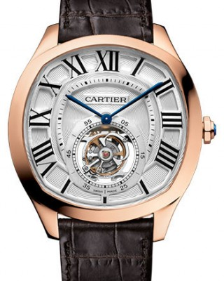 Copy Cartier Drive De Cartier Flying Tourbillon Watch W4100013