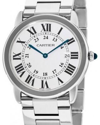 Copy Cartier Ronde Solo Quartz 36mm Ladies Watch W6701005