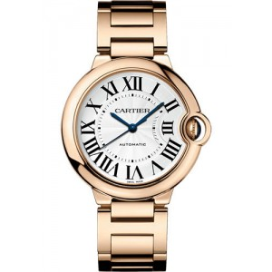 Copy Cartier Ballon Bleu De Cartier 36mm Ladies Watch WGBB0008