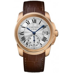 Copy Cartier Calibre De Cartier 38mm Mens Watch WGCA0003