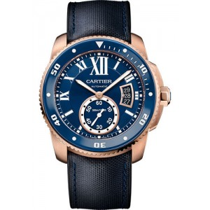 Copy Cartier Calibre De Cartier Diver Mens Watch WGCA0009