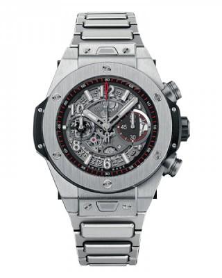 Copy Hublot Big Bang Unico Titanium 45mm Watch 411.NX.1170.NX