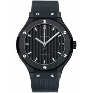 Copy Hublot Classic Fusion 38mm Black Magic Watch 565.CM.1771.RX