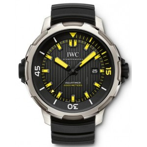 Copy IWC Aquatimer 2000 Diver Titanium 46mm Watch IW358001
