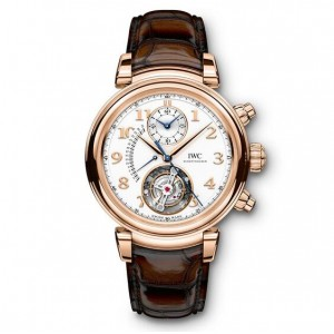 Copy IWC Da Vinci Tourbillon Retrograde Watch IW393101