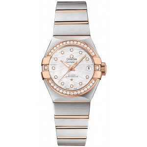 Copy Omega Constellation Pluma Watch 123.25.27.20.55.005