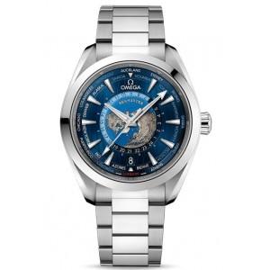 Copy Omega Seamaster Aqua Terra 150M GMT Worldtimer Watch 220.10.43.22.03.001