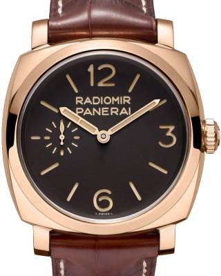 Copy Panerai Radiomir 1940 Oro Rosso Mens Watch PAM00398