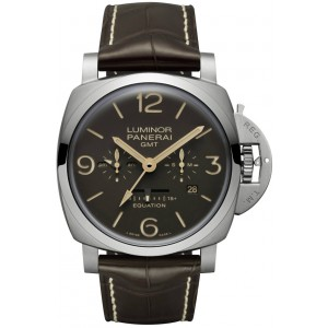 Copy Panerai Luminor 1950 Equation of Time 8 Days GMT Watch PAM00656