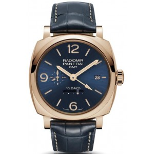 Copy Panerai Radiomir 1940 10 Days GMT Oro Rosso 45mm Watch PAM00659
