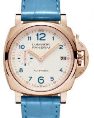 Copy Panerai Luminor Due 3 Days Oro Rosso 38mm Watch PAM00756