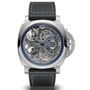 Copy Panerai Lo Scienziato Luminor 1950 Tourbillon GMT Watch PAM00767