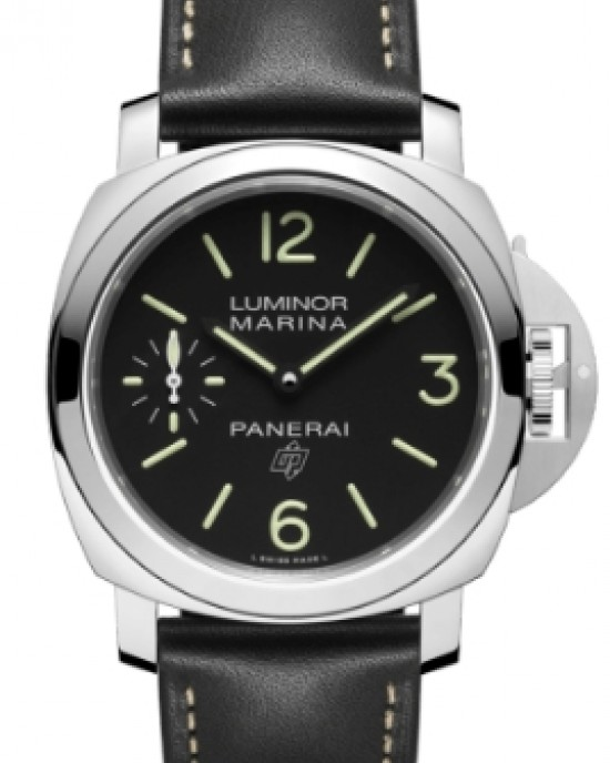 Copy Panerai Luminor Logo Marina 3 Days Acciaio 44mm Watch PAM00776