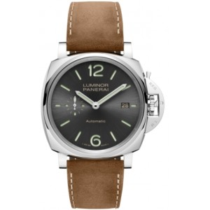 Copy Panerai Luminor Due 3 Days Acciaio 42mm Watch PAM00904