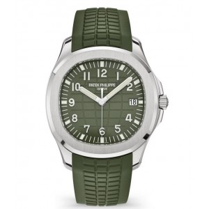 Copy Patek Philippe Aquanaut Khaki Green Watch 5168G-010