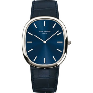 Copy Patek Philippe Golden Ellipse Watch 5738P-001