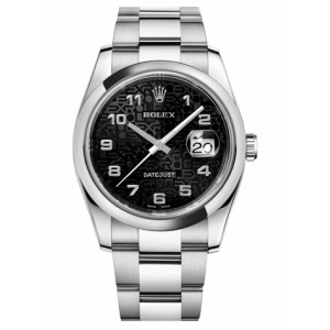Copy Rolex Datejust 36mm Watch 116200 BKJAO