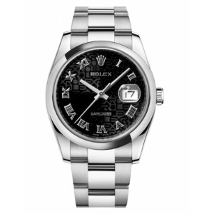 Copy Rolex Datejust 36mm Watch 116200 BKJRO
