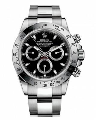 Copy Rolex Daytona Watch 116520 BLK