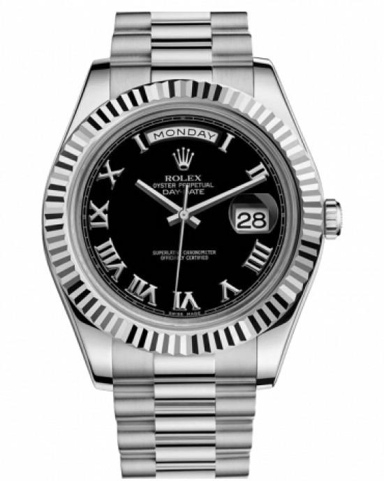 Copy Rolex Day Date II Watch 218239 BKRP