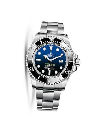 Copy Rolex Deepsea D-Blue Dial 44mm Watch m126660-0002