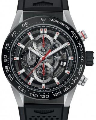 Copy TAG Heuer Carrera Calibre Heuer 01 43mm Watch CAR201V.FT6087