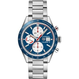 Copy TAG Heuer Carrera Calibre 16 41mm Watch CV201AR.BA0715