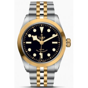 Copy Tudor Black Bay Black 36mm S&G Watch M79503-0001
