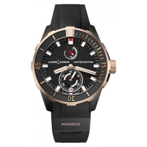 Copy Ulysse Nardin Diver Chronometer Watch 1185-170LE-3/BLACK-MON
