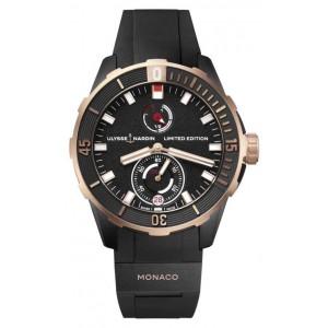 Copy Ulysse Nardin Diver Chronometer Watch 1185-170LE-3/BLACK-MON
