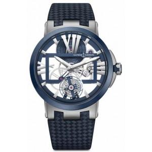 Copy Ulysse Nardin Executive Dual Time Watch 1713-139/43