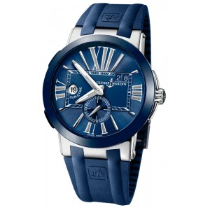 Copy Ulysse Nardin Executive Dual Time 43mm Watch 243-00-3/43